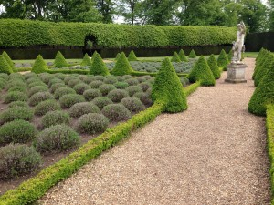 Ham House, Richmond, topiary