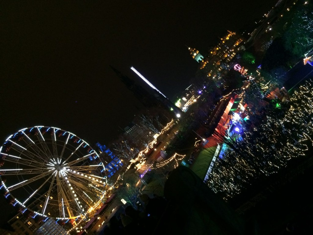 Edinburghs pretty amazing Christmas fair