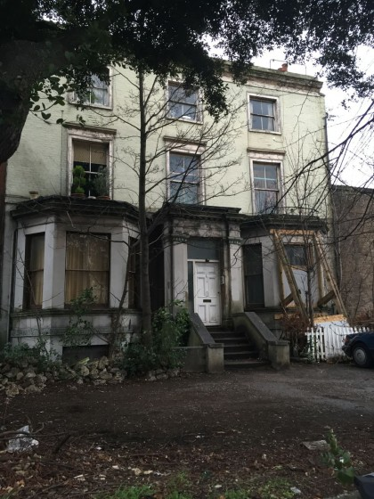 Ward's final house in Clapham as it is now in Jan 2015