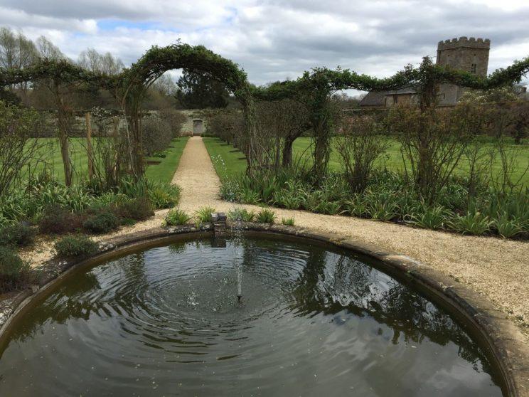 Rousham walled garden