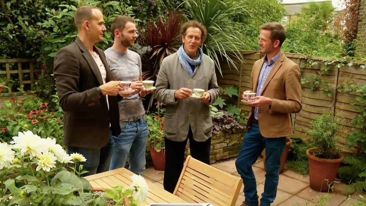 Media jack wallington garden design clapham in london for Gardening programmes on tv