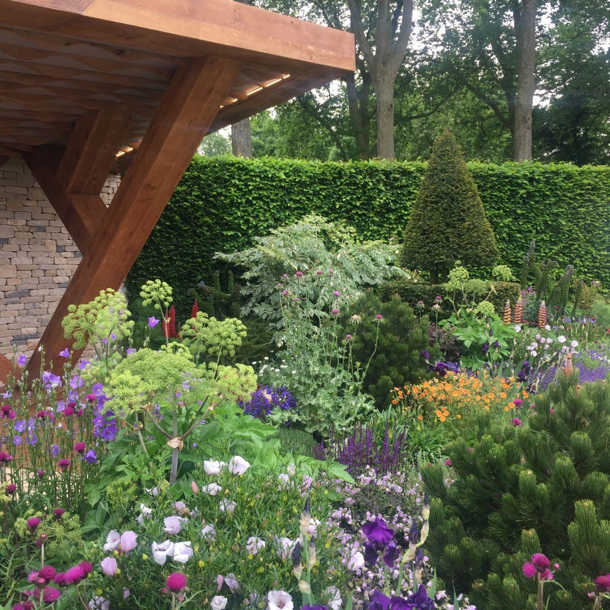 rhs chelsea flower show 2017 jack wallington garden design clapham in london. Black Bedroom Furniture Sets. Home Design Ideas