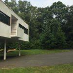 Modernist garden design at The Homewood