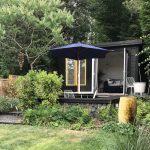 Garden design with studio in Braughing, Hertfordshire