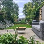 Large garden design in Clapham, London